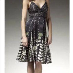 Beautiful Ted Baker Black Silk Dress. Size 3.